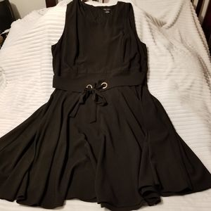 City chic Wimbledon black dress